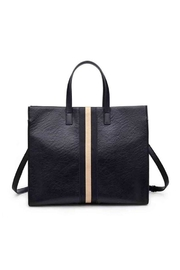 Moda Luxe Stripe Tote Bag - Product Mini Image