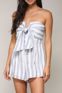 Shoptiques Product: Stripe Tube Romper