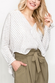 Favlux Stripe Tunic Top - Front cropped