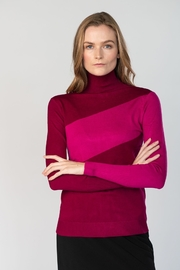 Meli by FAME Stripe Turtleneck - Product Mini Image