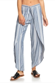 Roxy Stripe Wrap Pant - Product Mini Image
