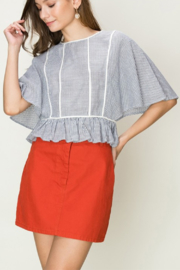 HYFVE Striped Apron Shirt - Product Mini Image