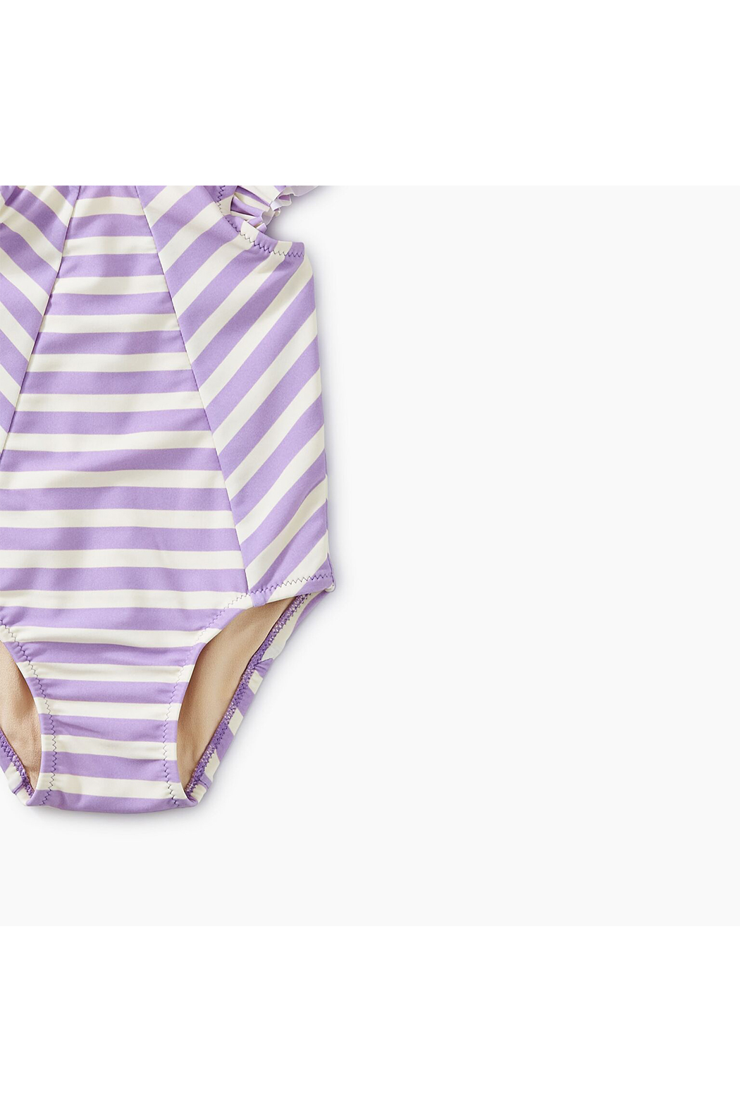 Tea Collection Striped Baby One-Piece - Front Full Image