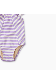 Tea Collection Striped Baby One-Piece - Front full body