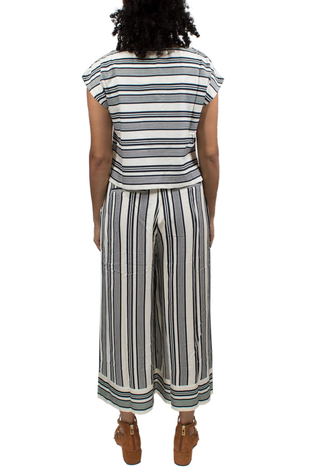 Native Youth Striped Bay Top - Front Full Image