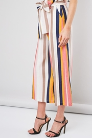 Do & Be Striped Belted Pants - Product Mini Image