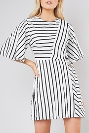 Do & Be Striped Belted Shift-Dress - Product Mini Image