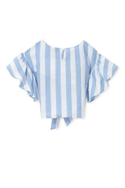 Habitat Striped Belted Top - Side cropped