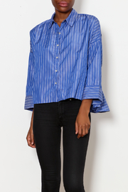 Starrs On Mercer Striped Button Down - Product Mini Image