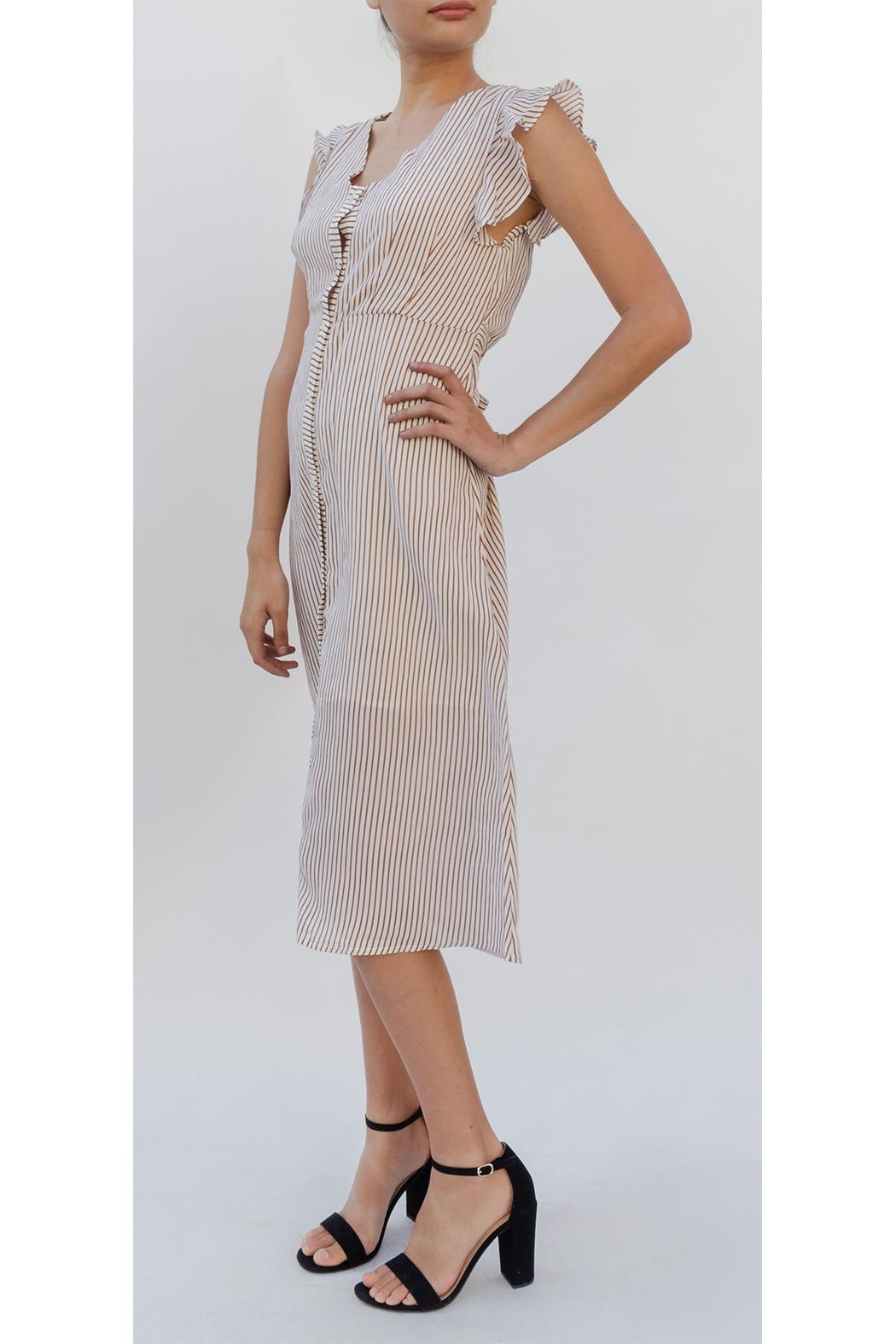 3f8cf3a8d Hem & Thread Striped Button-Down Dress from Los Angeles by Goldie's ...