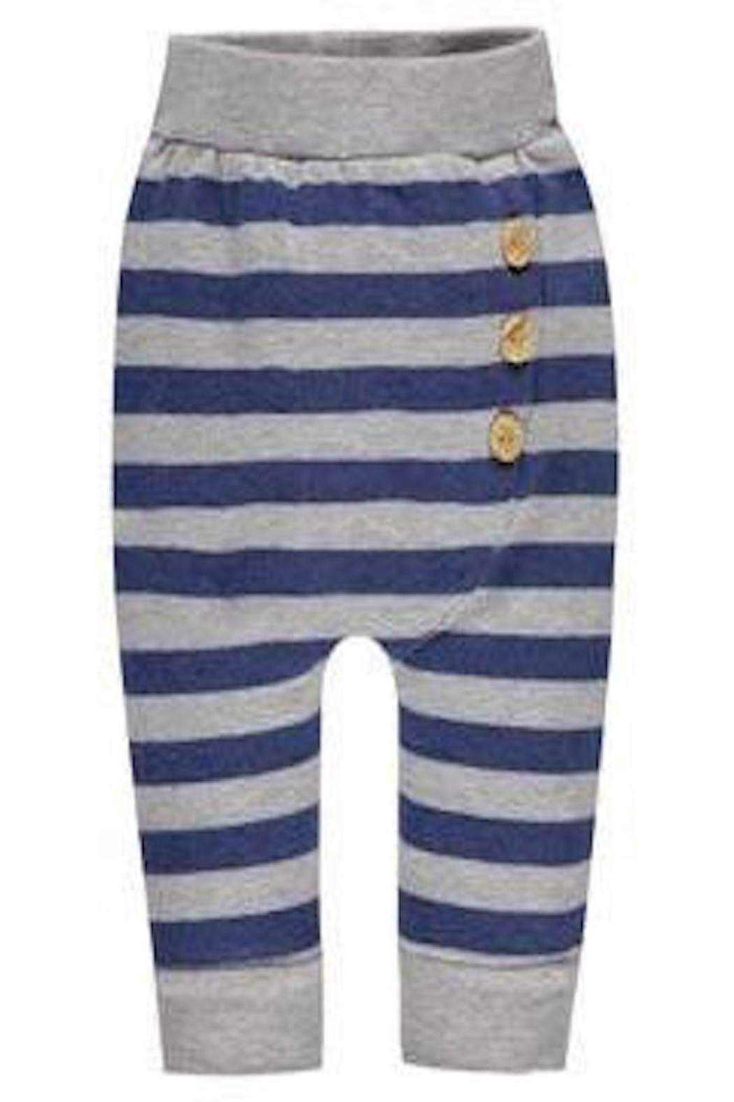 Belly Button Striped Button Sweatpants - Main Image