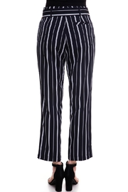 The Clothing Co Striped Buttoned Pants - Side cropped