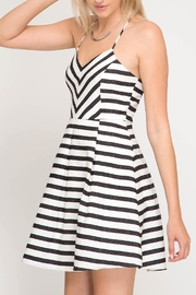 She + Sky Striped Cami Dress - Product Mini Image