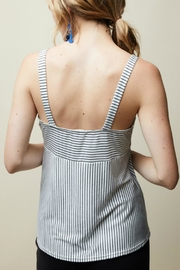 12pm by Mon Ami Striped Cami Top - Front full body