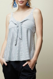 12pm by Mon Ami Striped Cami Top - Front cropped