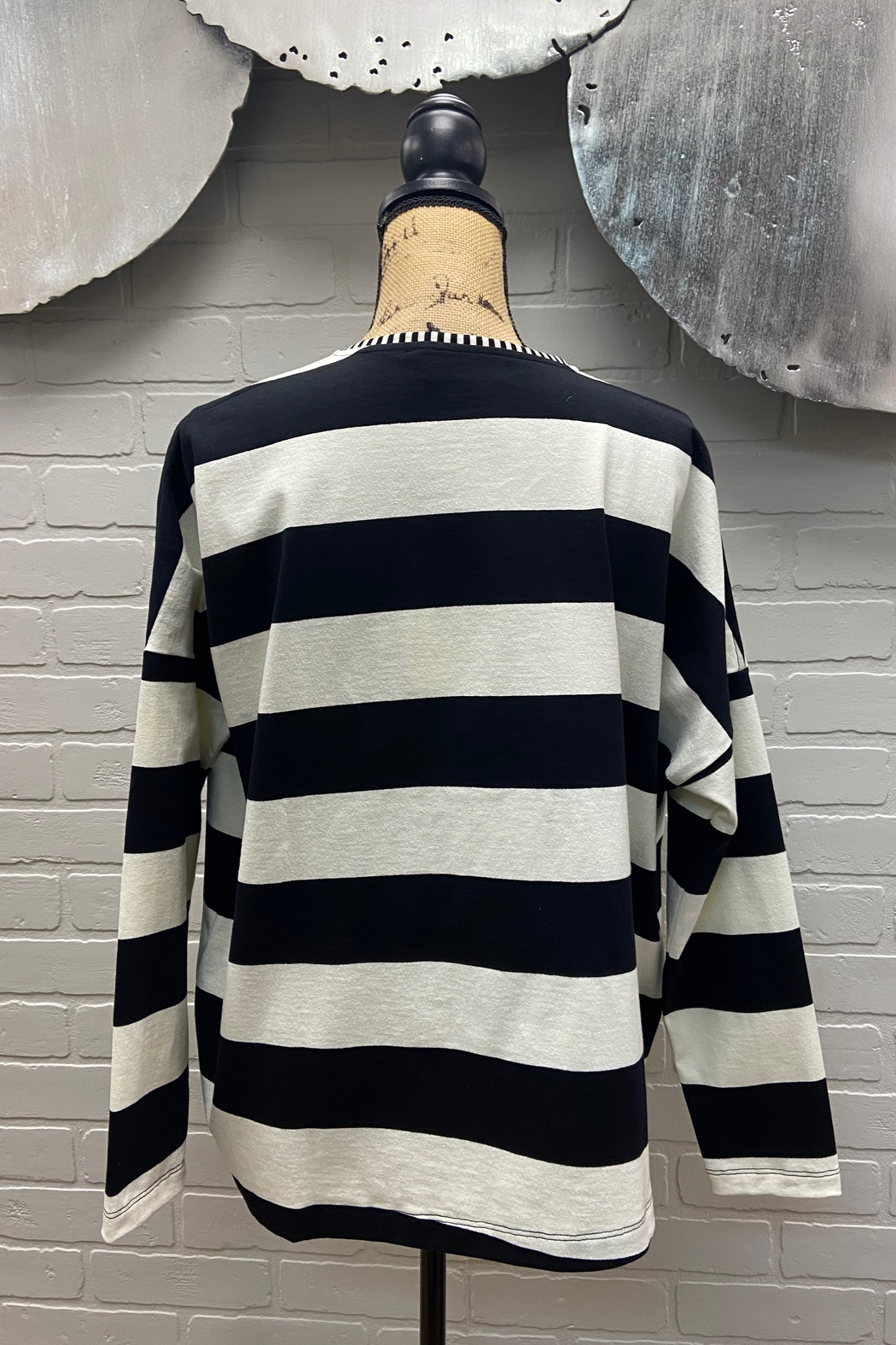 Chiara Cocol  Striped Cardigan - Main Image