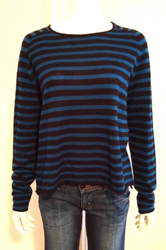 Line Striped Cashmere Sweater - Alternate List Image