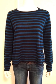Line Striped Cashmere Sweater - Product Mini Image