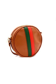 gift girl  Striped Circle Crossbody - Product Mini Image