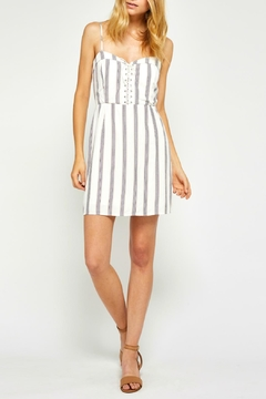 Gentle Fawn Striped Convertible Dress - Product List Image