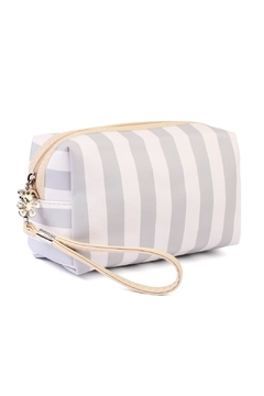 Shoptiques Product: Striped Cosmetic Bag