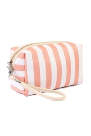 Riah Fashion Striped Cosmetic Bag - Product Mini Image