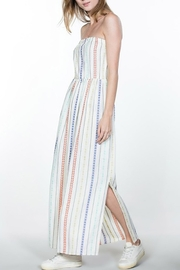 En Creme Striped Cotton Maxi - Product Mini Image