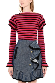 Philosophy di Lorenzo Serafini Striped Cotton Sweater - Product Mini Image