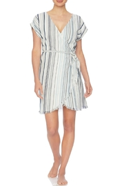 Splendid Striped Cover Up - Front cropped