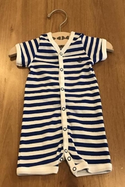 Petit Bateau Striped Coverall - Front cropped