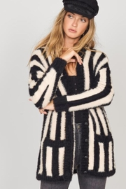 AMUSE SOCIETY Striped Cozy Sweater - Product Mini Image
