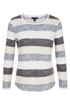 Shoptiques Product: Striped Crew Neck