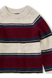 Tea Collection Striped Crew Neck Sweater - Side cropped