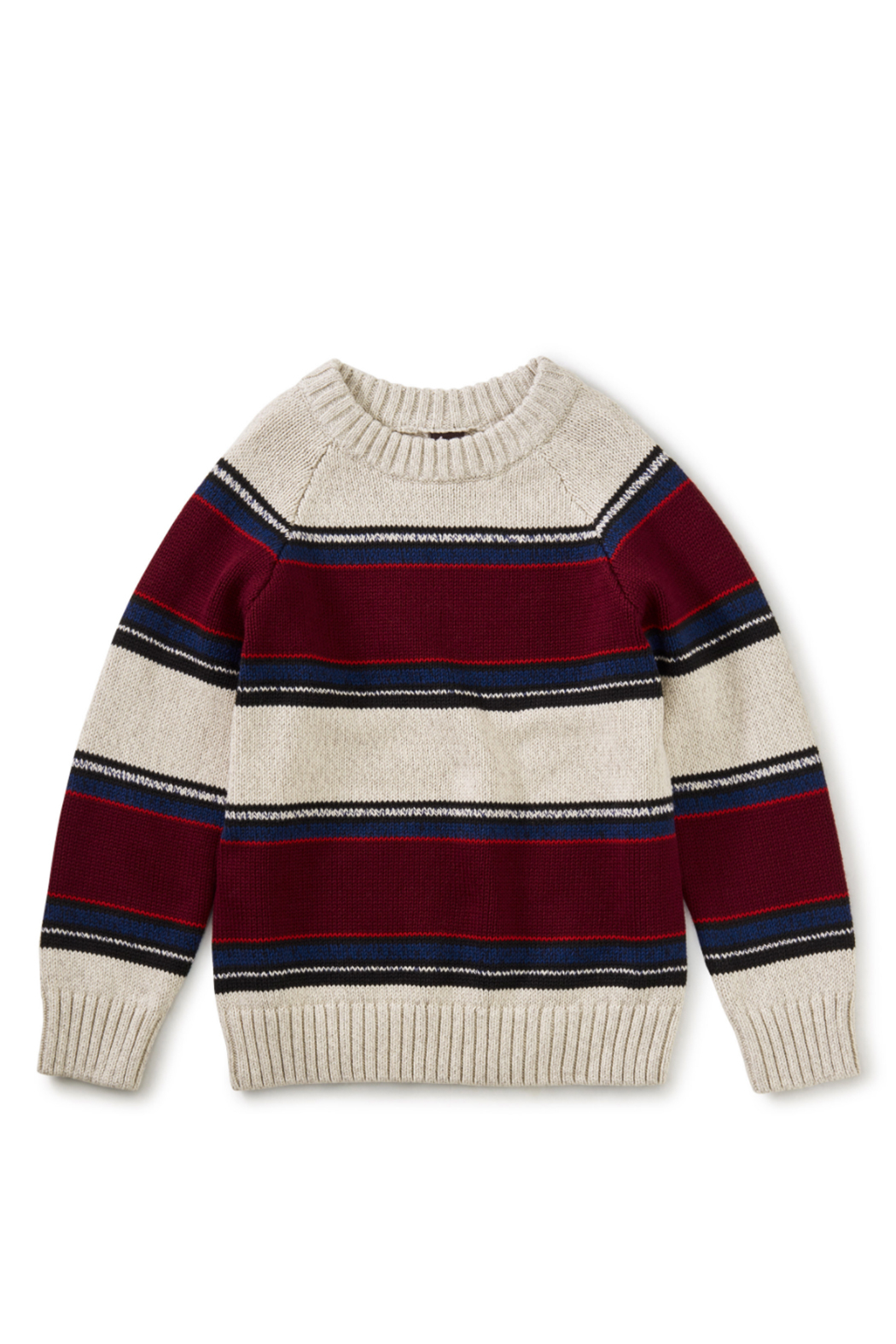 Tea Collection Striped Crew Neck Sweater - Front Full Image