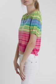 Thread+Onion Striped Crop Top - Front full body