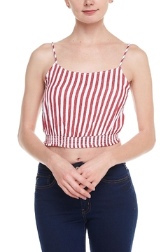 Shoptiques Product: Striped Crop Top