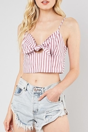 Do & Be Striped Crop Top - Product Mini Image