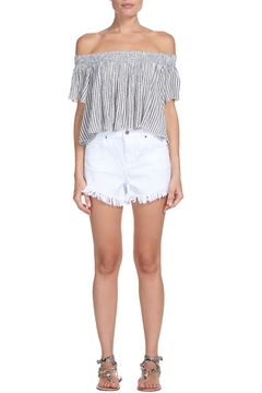Elan Striped Crop Top - Product List Image