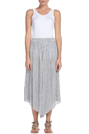Elan Striped Cropped Pants - Product Mini Image