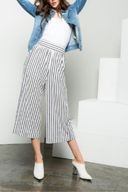 Thml Striped Cropped Pants - Product Mini Image