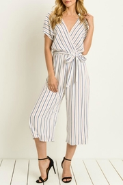 Le Lis Striped Cullotte Jumpsuit - Product Mini Image