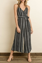 dress forum Striped Culottes Jumpsuit - Product Mini Image