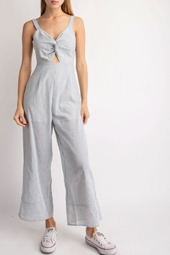 3c70837f3573 ... Le Lis Striped Cut-Out Jumpsuit - Product List Image