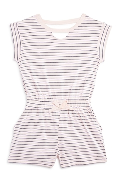 Shoptiques Product: Striped Cutout Romper