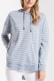 z supply Striped Dakota Pullover Hoodie - Product Mini Image