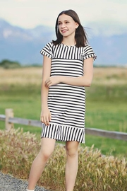 Mabel + Honey Striped Dress - Product Mini Image