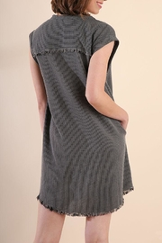 Umgee USA Striped Dress - Front full body