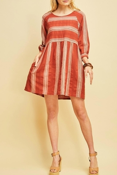 Entro Striped Dress - Product List Image