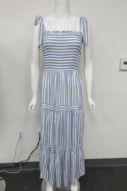 She + Sky Striped Dress - Product Mini Image
