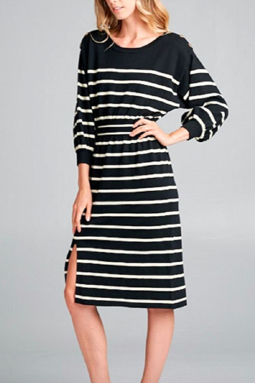 Ellison Striped Ellie Dress - Main Image